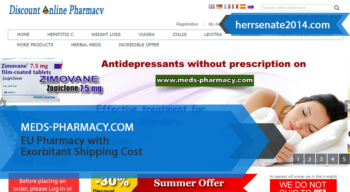Meds-pharmacy.com Review – Eu Pharmacy With Exorbitant Shipping Cost