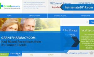 Grantpharmacy.com Review– Had Mixed Receptions from its Former Clients