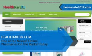 Healthkartrx.com Review – One of the Newest Online Pharmacies On the Market Today