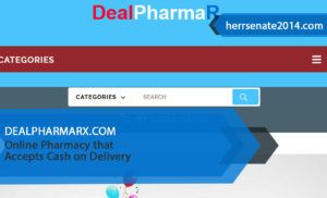 Dealpharmarx.com Review – Online Pharmacy that Accepts Cash on Delivery