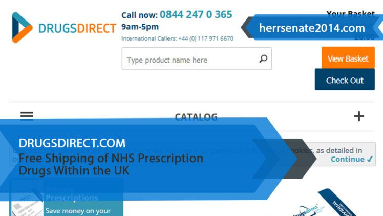 Drugsdirect.com Review – Free Shipping of NHS Prescription Drugs Within the UK