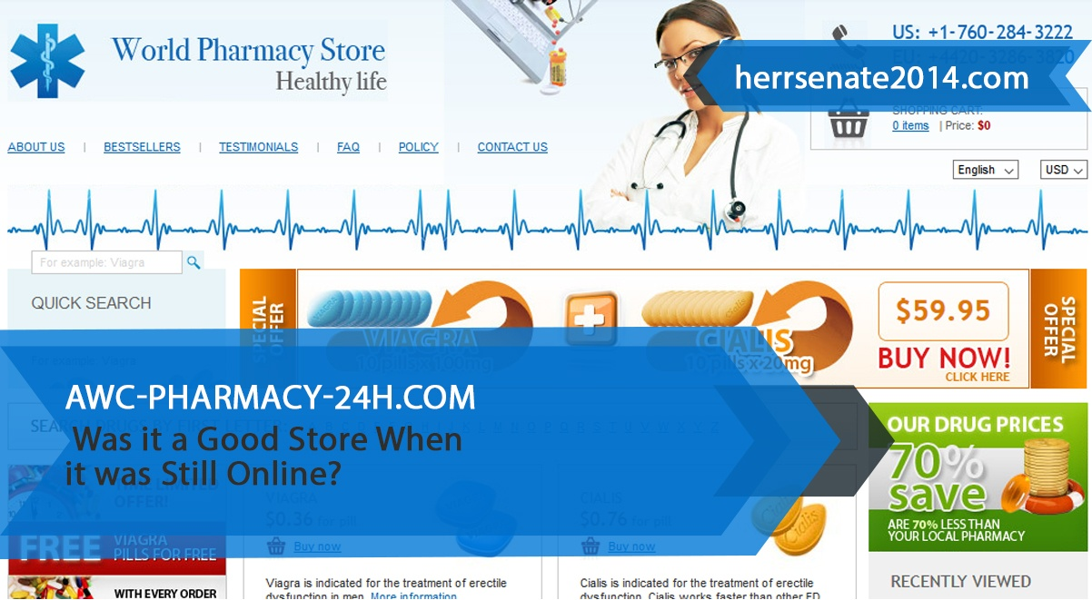 Awc-pharmacy-24h.com Review – Was it a Good Store When it was Still Online?