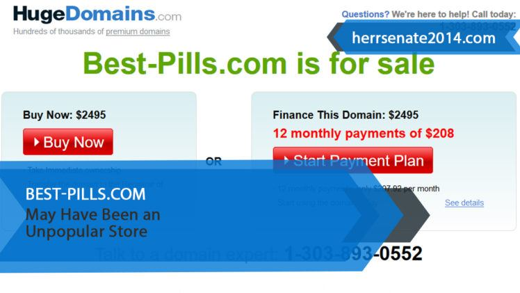 Best-pills.com Review – May Have Been an Unpopular Store