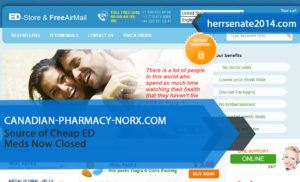Canadian-pharmacy-norx.com Review – Source of Cheap ED Meds Now Closed