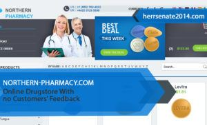 Northern-pharmacy.com Review – Online Drugstore With no Customers' Feedback