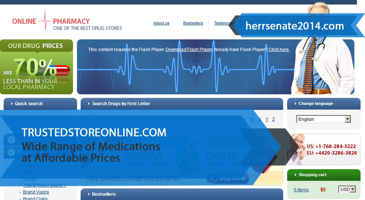 Trustedstoreonline.com Review – Wide Range of Medications at Affordable Prices