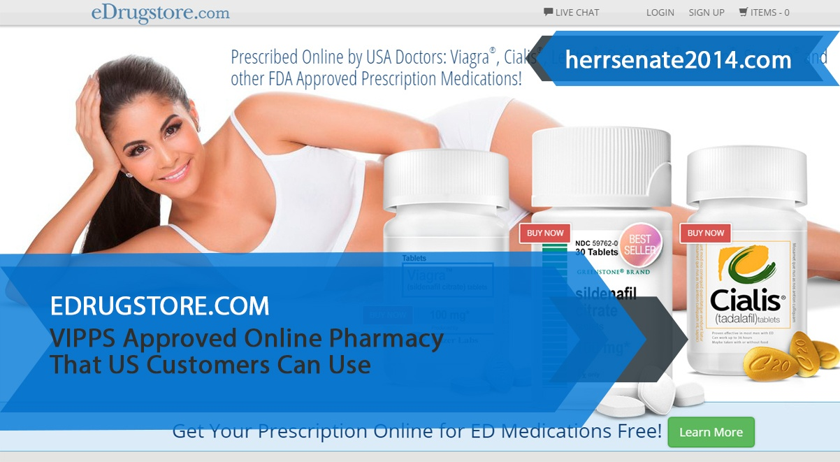 Edrugstore.com Review – VIPPS Approved Online Pharmacy That US Customers Can Use