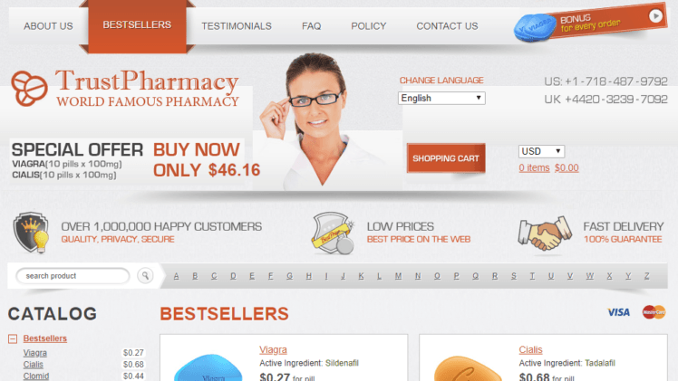 Rx-trust.com Review– I Can't Really Say if This Store is Trustworthy or Not